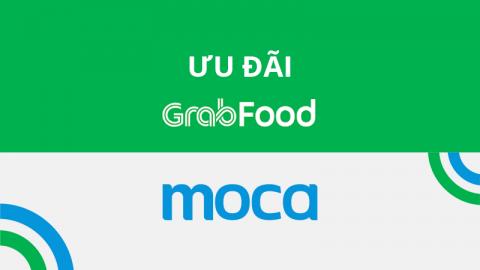 Nhập mã BUAXE ưu đãi miễn phí giao hàng bữa chiều khi thanh toán bằng Moca trên ứng dụng Grab.