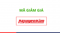 Mã giảm giá Nguyễn Kim, Voucher khuyến mãi mới nhất 2019