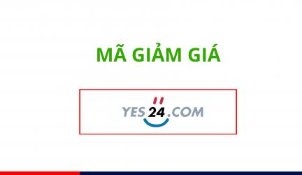 Mã giảm giá Yes24, Coupon Yes24 khuyến mãi mới nhất 2019
